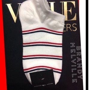 🆕Brandy Melville Stripe Ankle Socks